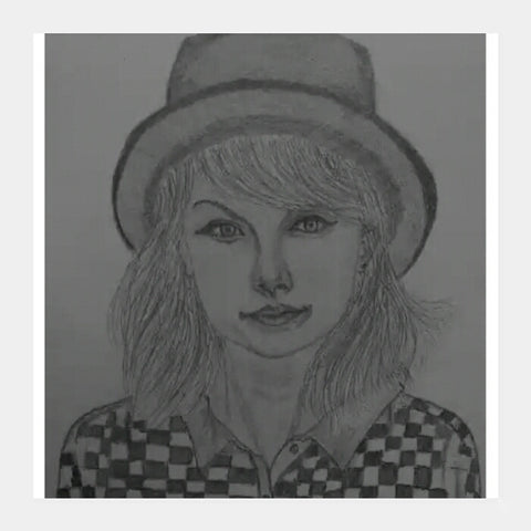 Square Art Prints, Taylor Swift square art | artist : Gaurav SahuSahu, - PosterGully