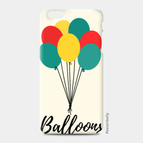 Colorful Balloons iPhone 6 Plus/6S Plus Cases | Artist : Ankita Sharma