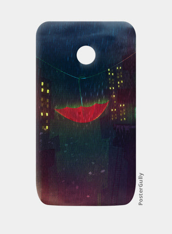 Night Rain Moto E Cases | Artist : Aniket Mitra