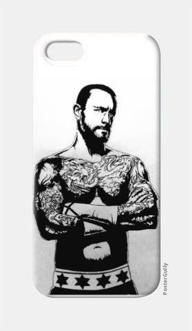 CM Punk iPhone 5 Case by Kislaya Sinha