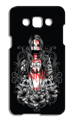 Girl With Tattoo Samsung Galaxy A5 Cases | Artist : Inderpreet Singh