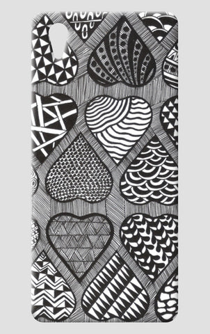 Prints in Hearts One Plus X Cases | Artist : Aniket Mitra