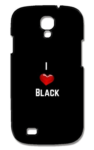 I love black Samsung Galaxy S4 Cases | Artist : Pallavi Rawal