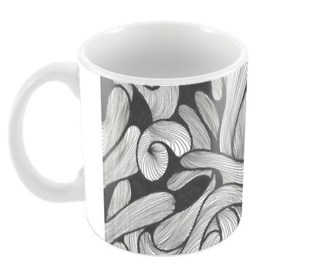 abstract doodle Coffee Mugs | Artist : Raj Patel
