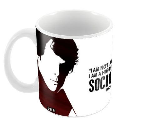 I am Sherlocked Coffee Mugs | Artist : Pankaj Utekar
