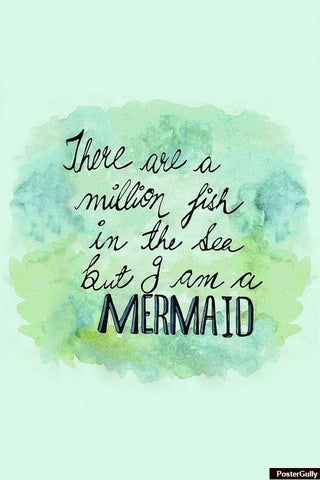Brand New Designs, I Am Mermaid! Artwork | Artist: Simran Anand, - PosterGully - 1