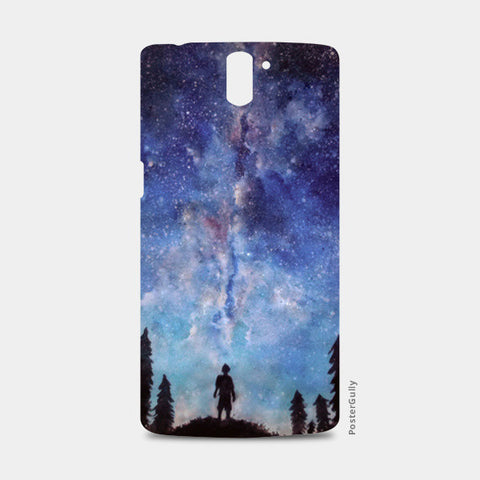 A quiet darkness One Plus One Cases | Artist : Sukanya Chakraborty