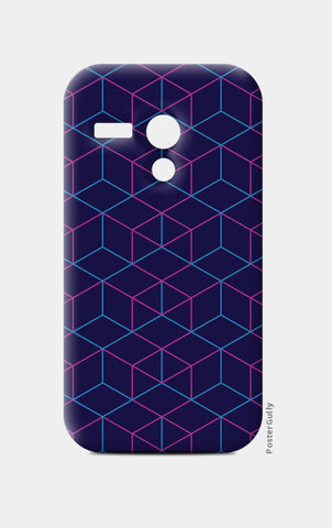 Moto G Cases, Isometric Pattern Moto G Cases | Artist : Jobin Jacob, - PosterGully