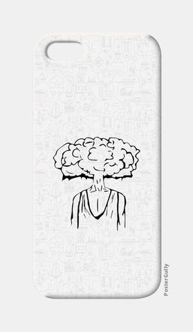 iPhone 5 Cases, Cloud of Thoughts  iPhone 5 Cases | Artist : Pulkit Taneja, - PosterGully
