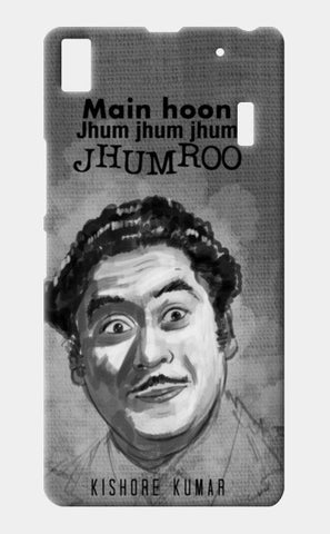 Bollywood-Old is God- Kishore Kumar Lenovo A7000 Cases | Artist : Raman Bhardwaj