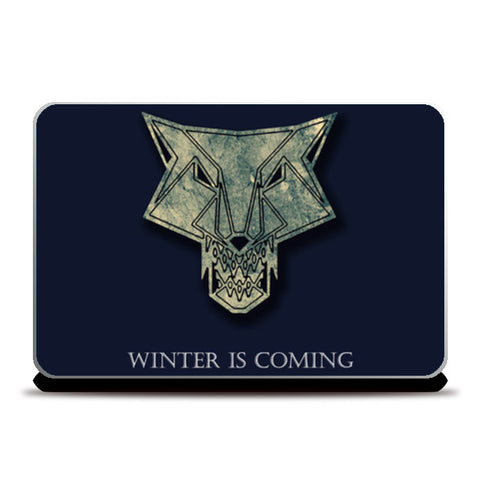 winter is coming Laptop Skins | Artist : Nazria Banu