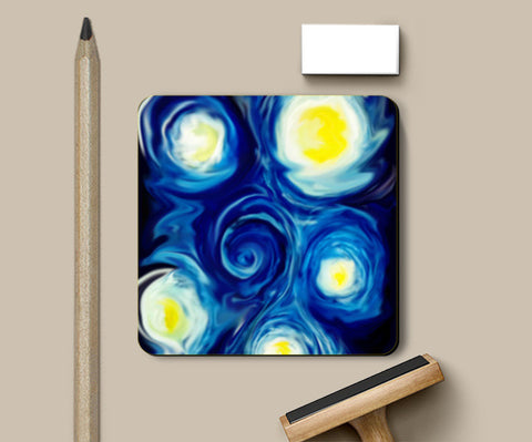 Nightwhirl Coasters | Artist : Sanjay Ghosh
