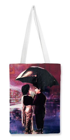 Shree 420 Oil Caricature Tote Bags | Artist : Deepak Gupta