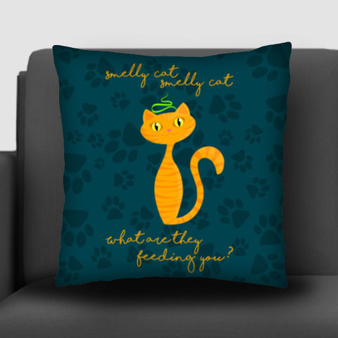 Smelly Cat | FRIENDS Cushion Covers | Artist : Ved Uttam