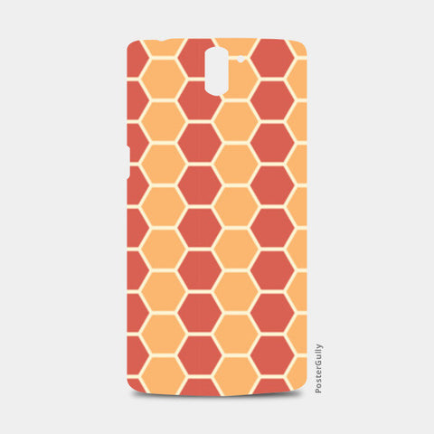 Hexagonal tiling pattern One Plus One Cases | Artist : Designerchennai