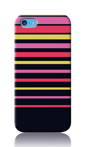 iPhone Cases, Colorful Linings iPhone 5C Case | Artist: Inderpreet, - PosterGully