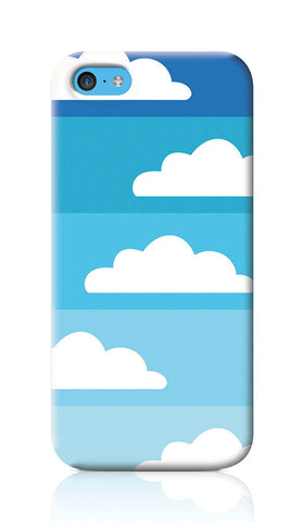 iPhone Cases, Above The Sky Blue iPhone 5C Case | Artist: Inderpreet, - PosterGully