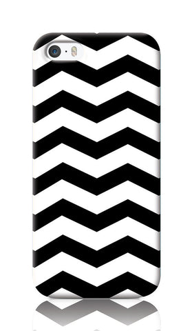 iPhone Cases, Zigzag White iPhone 5/5S Case | Artist: Inderpreet, - PosterGully