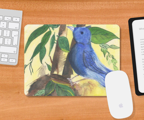Mousepad, Cadge Bird Mousepad  | Artist: Teena Chauhan, - PosterGully