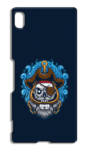 Skull Cartoon Pirate Sony Xperia Z4 Cases | Artist : Inderpreet Singh