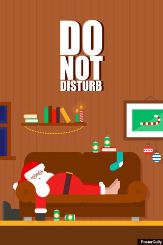 Wall Art, Do Not Disturb Artwork | Artist: Amit Kumar, - PosterGully - 1