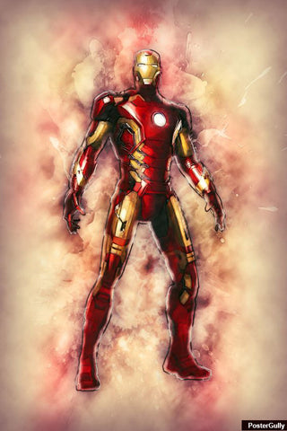 Wall Art, Ironman Avengers Artwork | Artist: Amit Kumar, - PosterGully