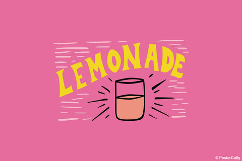 Wall Art, Lemonade Food Artwork, - PosterGully - 1