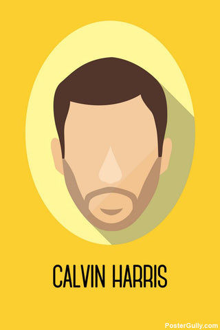 Wall Art, Calvin Harris Artwork | Artist Simran Anand, - PosterGully - 1