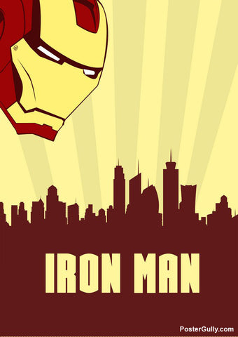 Wall Art, Iron Man Poster Artwork | Artist: Siladityaa Sharma, - PosterGully - 1