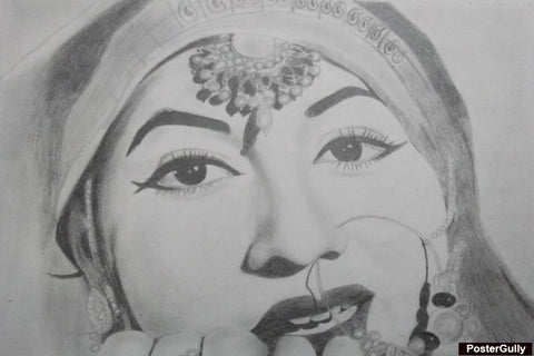 Wall Art, Madhubala Artwork | Artist: Neha Pawar, - PosterGully