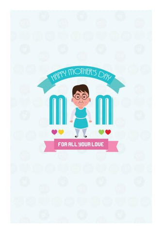 PosterGully Specials, Mom for all your love Wall Art | Artist : Designerchennai, - PosterGully