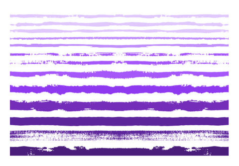 Uneven Purple Stripes Wall Art  | Artist : Amantrika Saraogi