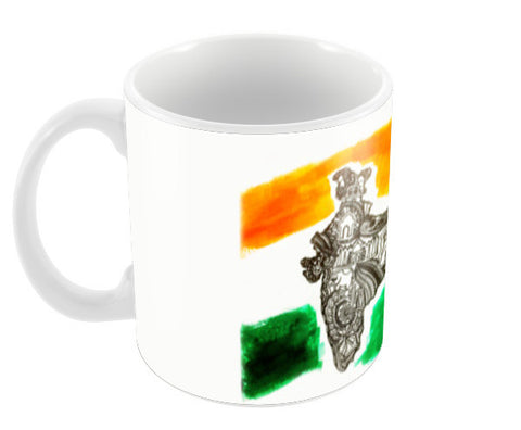 India Coffee Mugs | Artist : Ayushi Teotia