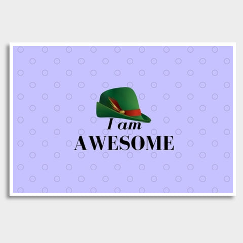 I am Awesome Giant Poster | Artist : Pallavi Rawal