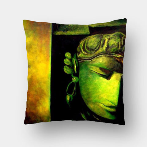 Cushion Covers, Whispering Stones Cushion Cover | Artist: raji chacko, - PosterGully