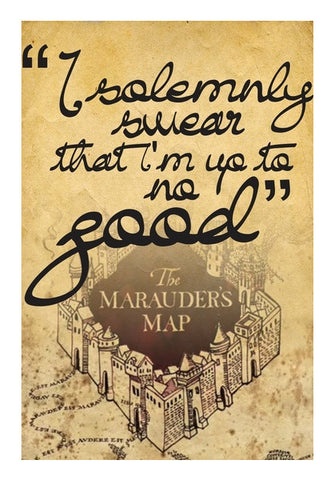Wall Art, Harry potter (up to no good) Wall Art | Artist : Gauri Deshpande, - PosterGully