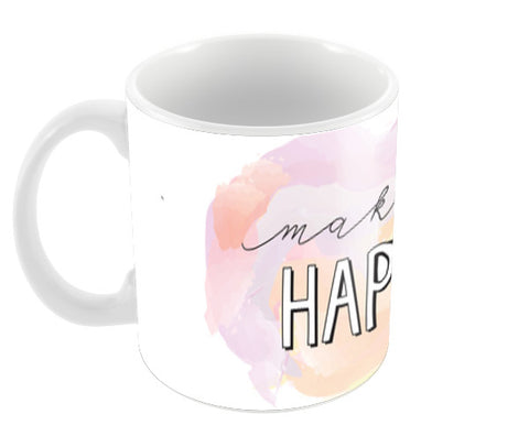 Make it happen Coffee Mugs | Artist : Stuti Bajaj