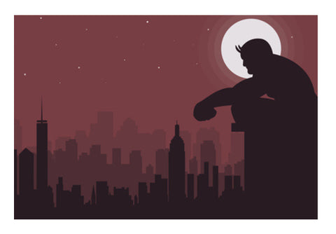 Daredevil Wall Art  | Artist : Darshan Gajara's Artwork