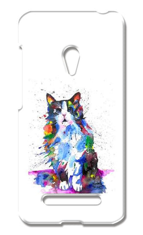 CLARITY | CAT | PAINTING  Asus Zenfone 5 Cases | Artist : Prashant Singh