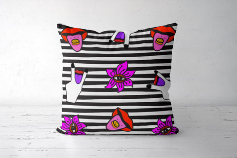 Get Psyched Cushion Covers | Artist : Aam Papad