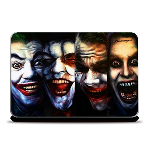 joker batman gotham dark knight  Laptop Skins | Artist : BY Darakhsha Dandekar, Karan Mehta and Udit Shah