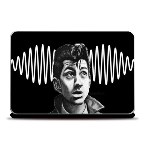 Alex Turner from Arctic Monkeys Laptop Skins | Artist : Aninya Gangal