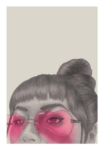 PosterGully Specials, Betty With The Glasses Wall Art | Artist : Anniez Artwork, - PosterGully
