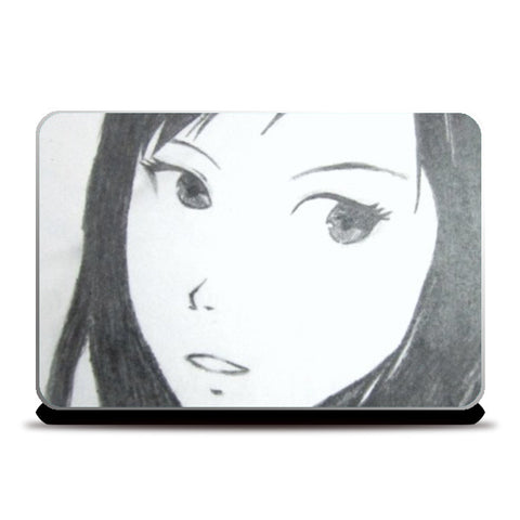 Laptop Skins, Anime Girl Laptop Skins | Artist : Aastha Pruthi, - PosterGully