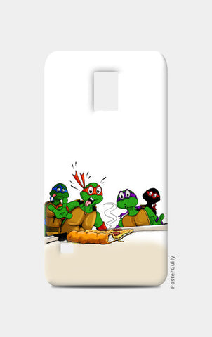 Samsung S5 Cases, Ninja Turtles - Pizzaaa!! Samsung S5 Cases | Artist : Paul D' Rozario, - PosterGully