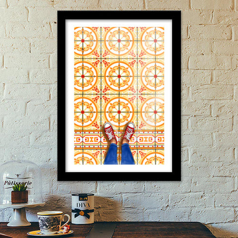FROM WHERE I STAND Premium Italian Wooden Frames | Artist : Paper Pankh