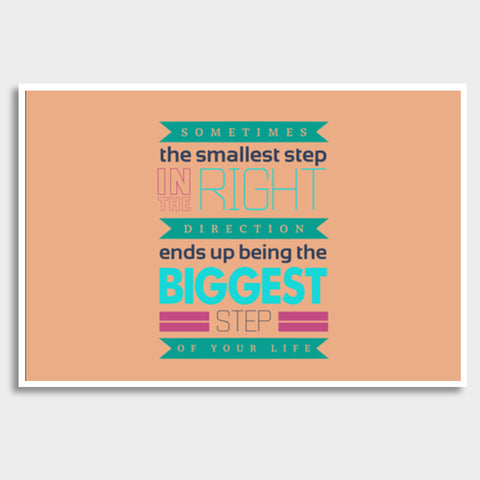 Cool typography quote Giant Poster | Artist : Stuti Bajaj
