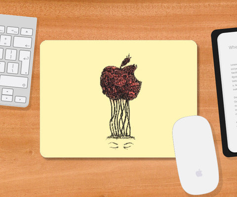 Mousepad, APPLE A DAY COLOR Mousepad | Nikhil Nitin Lokhande, - PosterGully