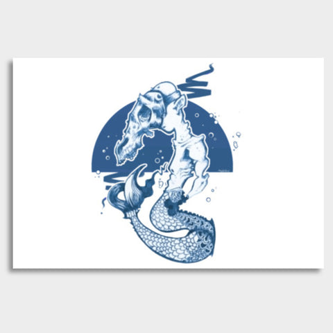 Sea Horse Giant Poster | Artist : Safal Adam