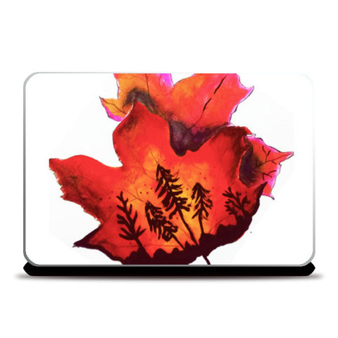Laptop Skins, Forest Fire Laptop Skins | Artist : Awanika Anand, - PosterGully